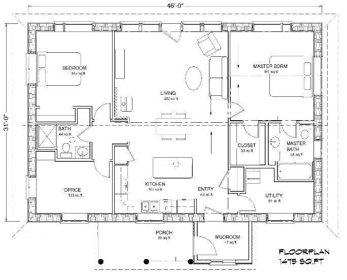 slab home designs