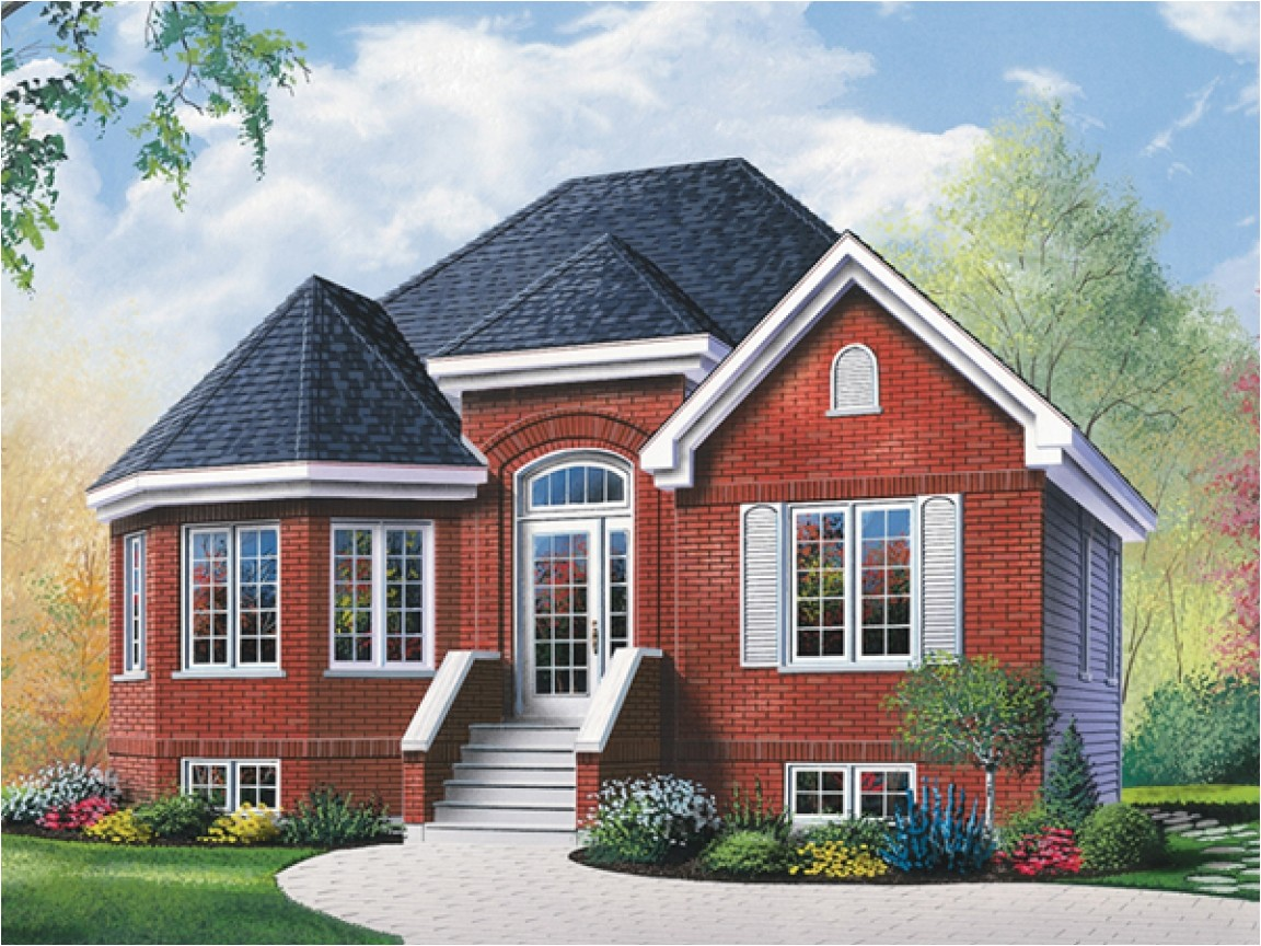 69a73adc776e04ea brick ranch house with bay window ranch house plans with porches