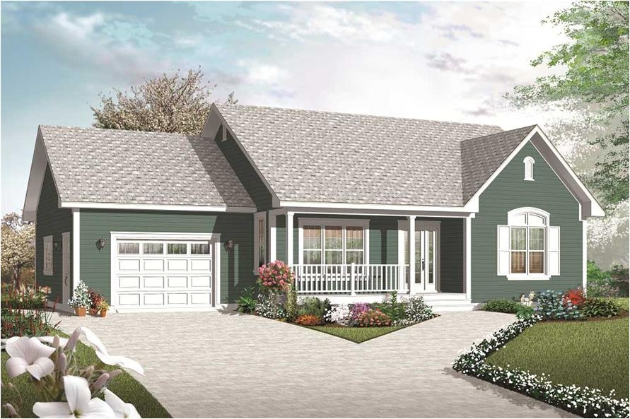home plan 25501