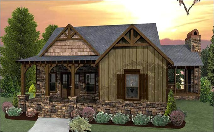 small craftsman cottage house plans