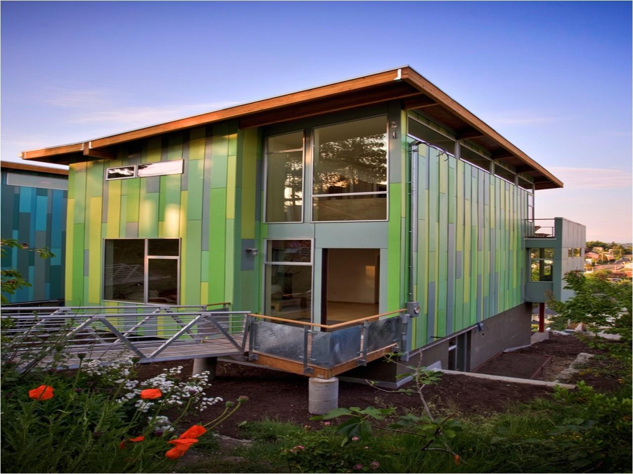 modern eco friendly home plans