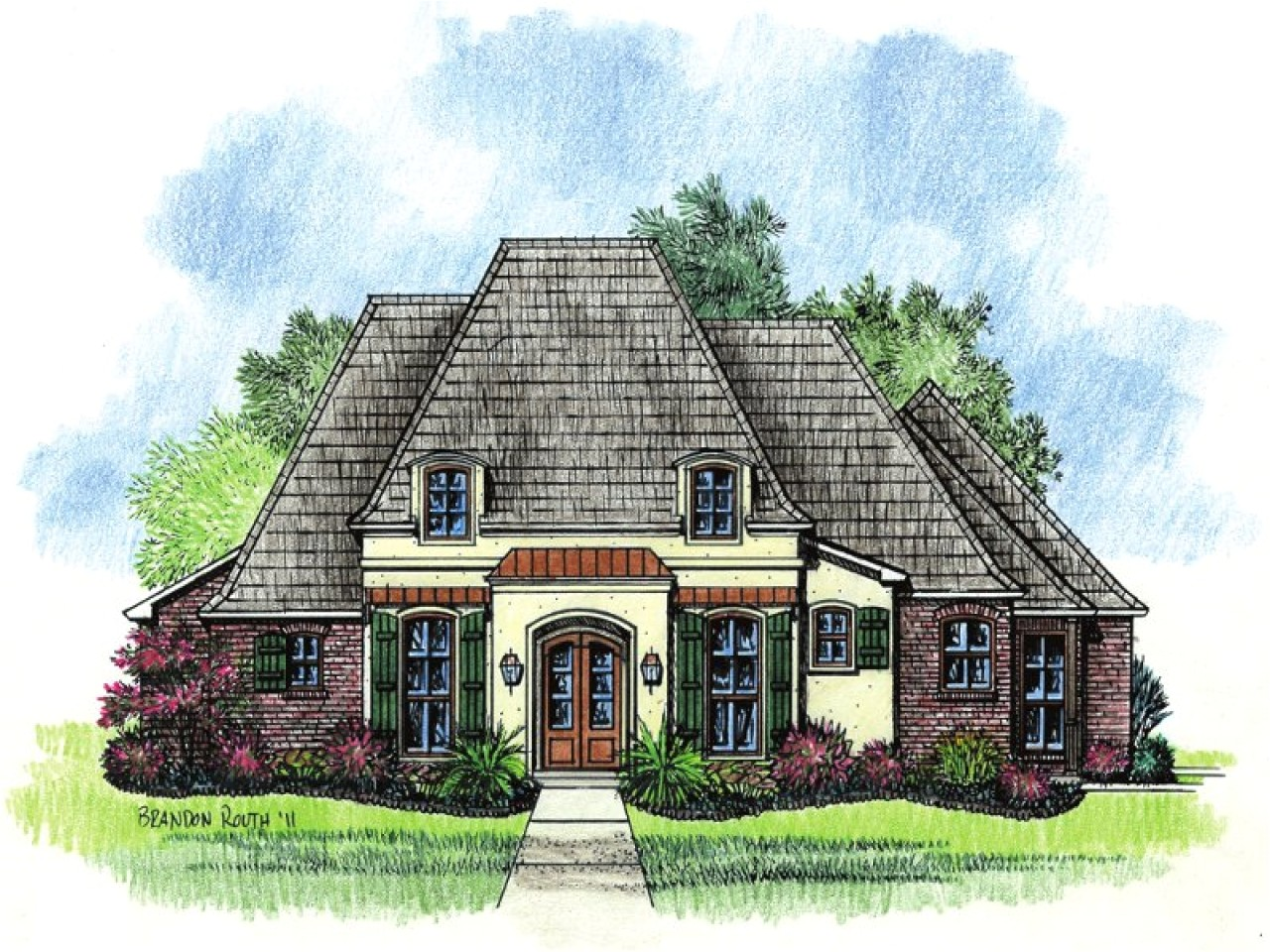 Small French Country Home Plans Small Country House Plans French Country House Plans