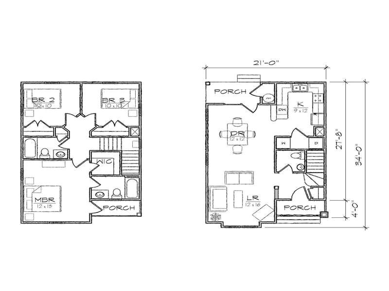 simple small lot house plans narrow lot