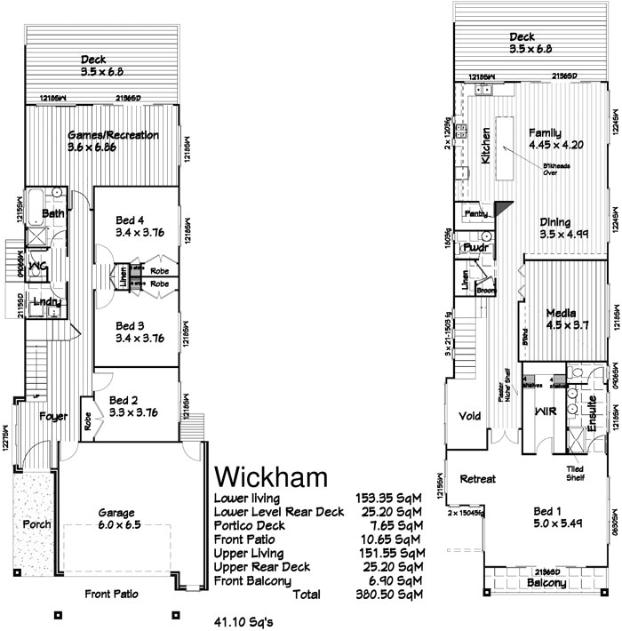 small and modern house plans