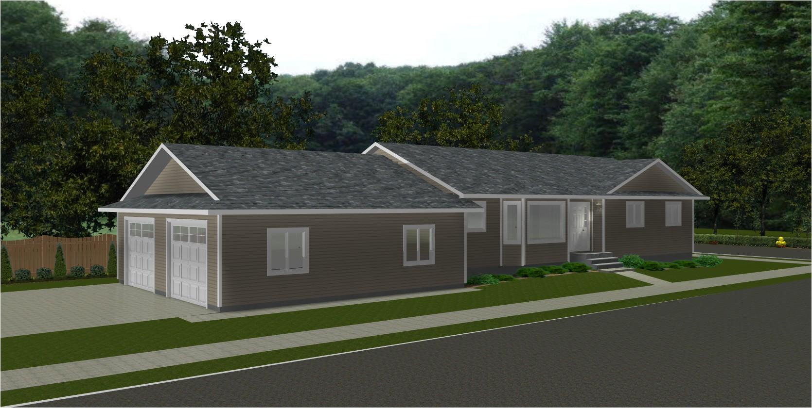 attached garage plans