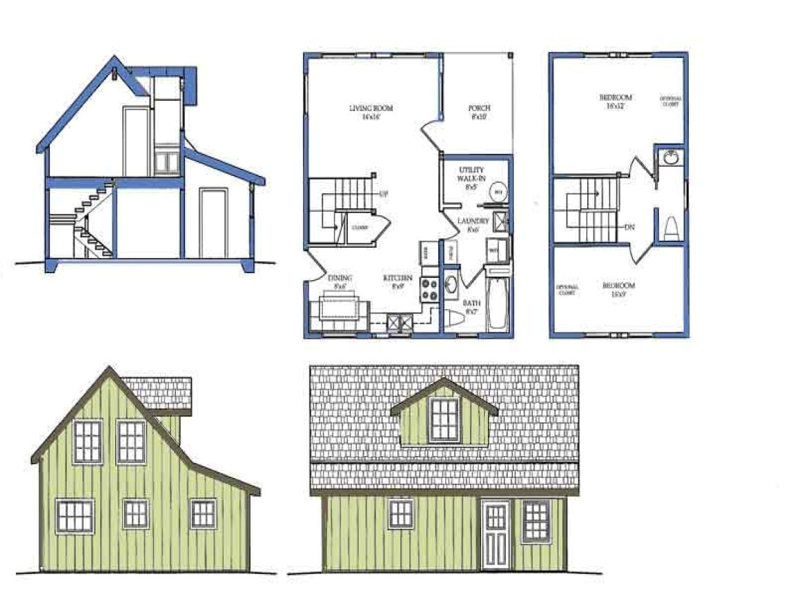 small home plans with basements 2
