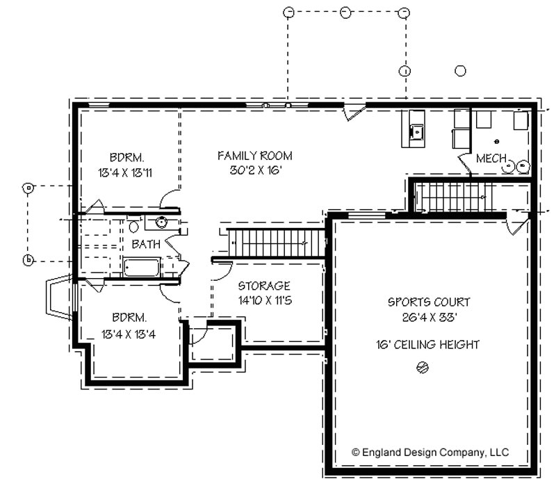 small home plans with basement