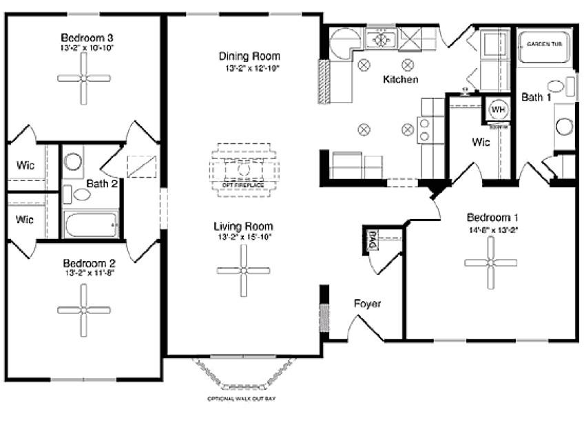 small modular home floor plans 129391