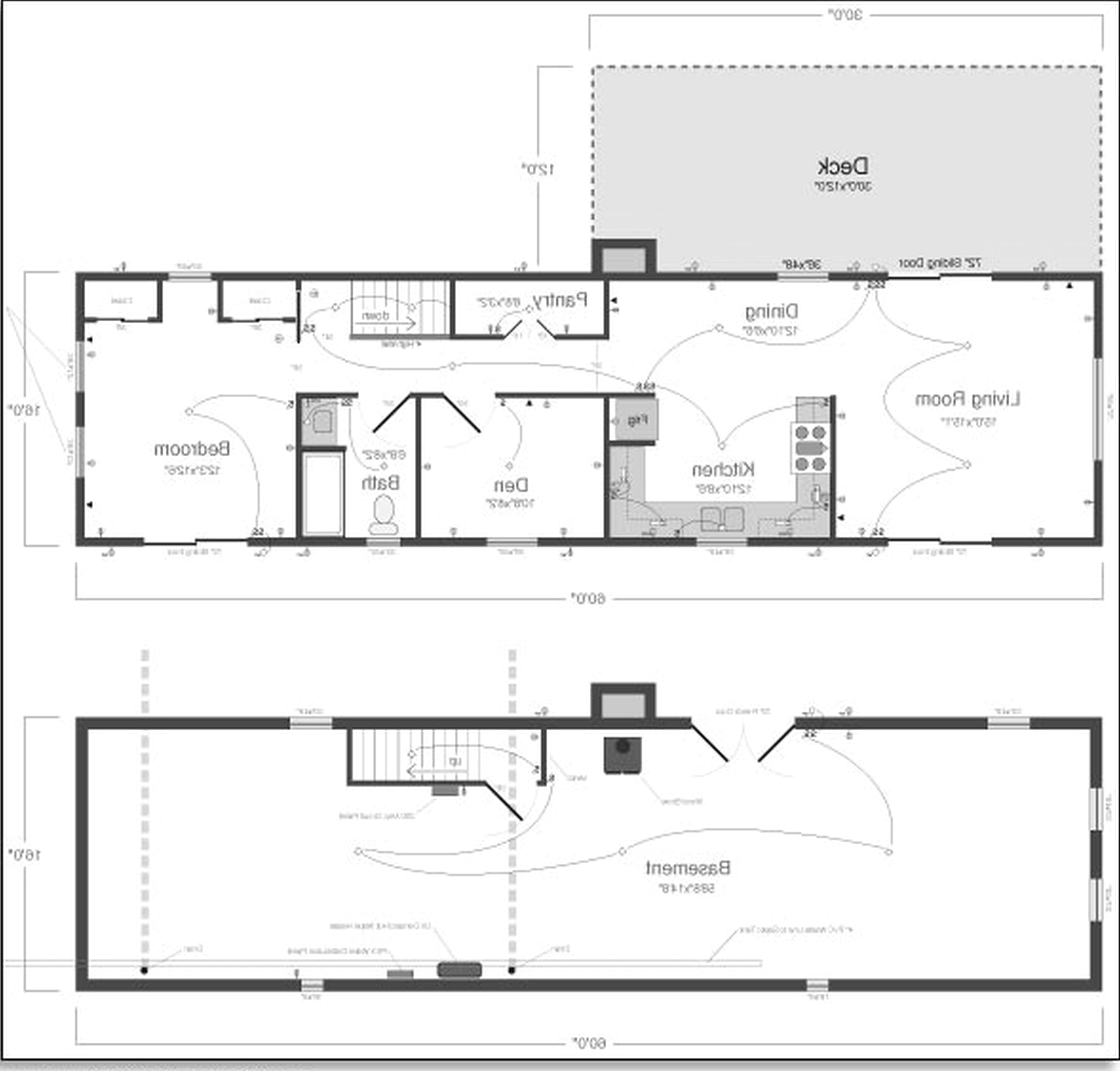 small modern house plans single story