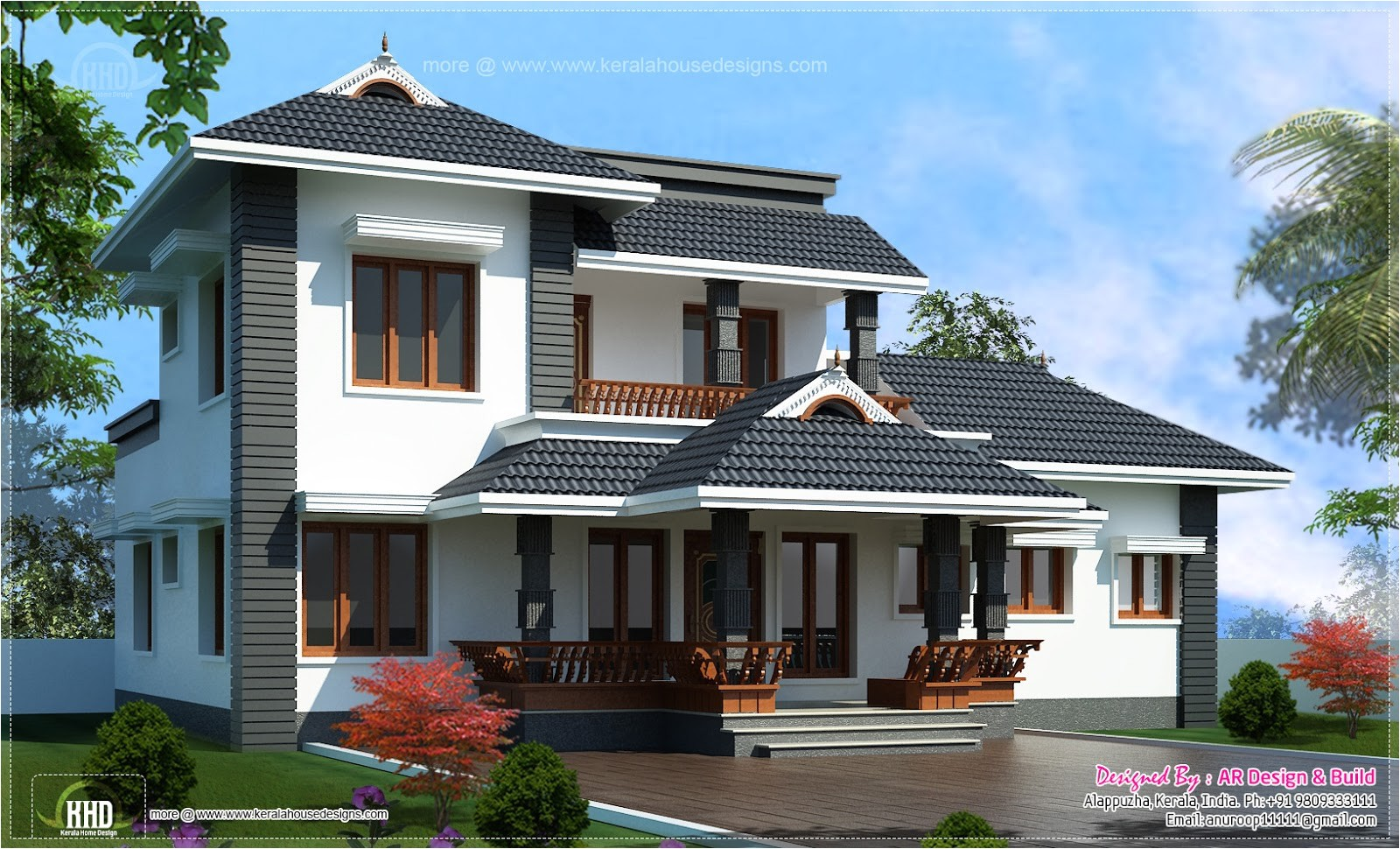 modern house plans under 2000 square feet luxury house plan 2000 sq feet 4 bedroom sloping roof residence kerala