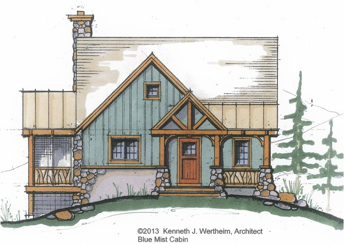 small mountain home plans
