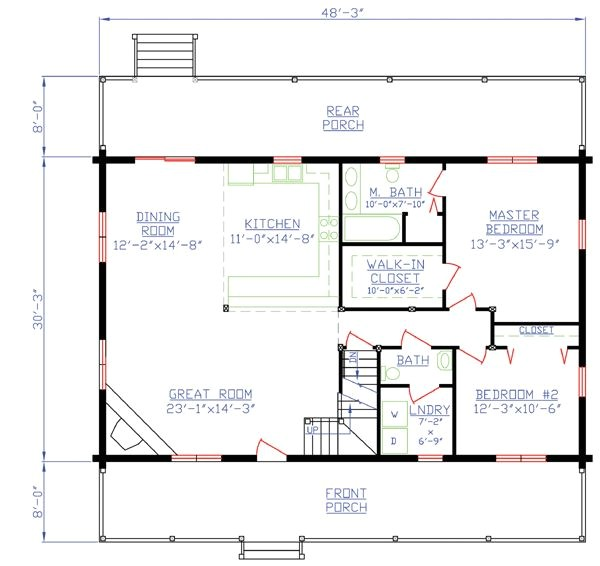 off grid small home plans