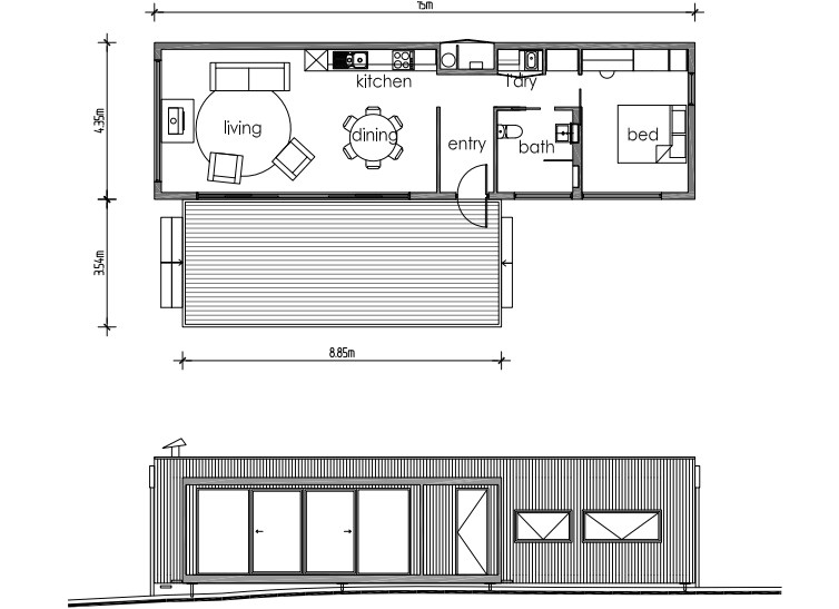 small off the grid home plans