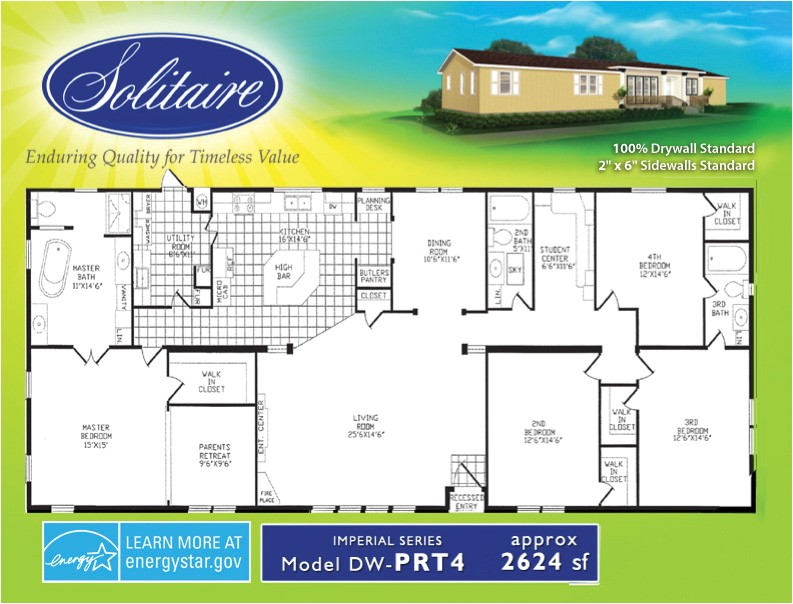 mobile home plans double wide