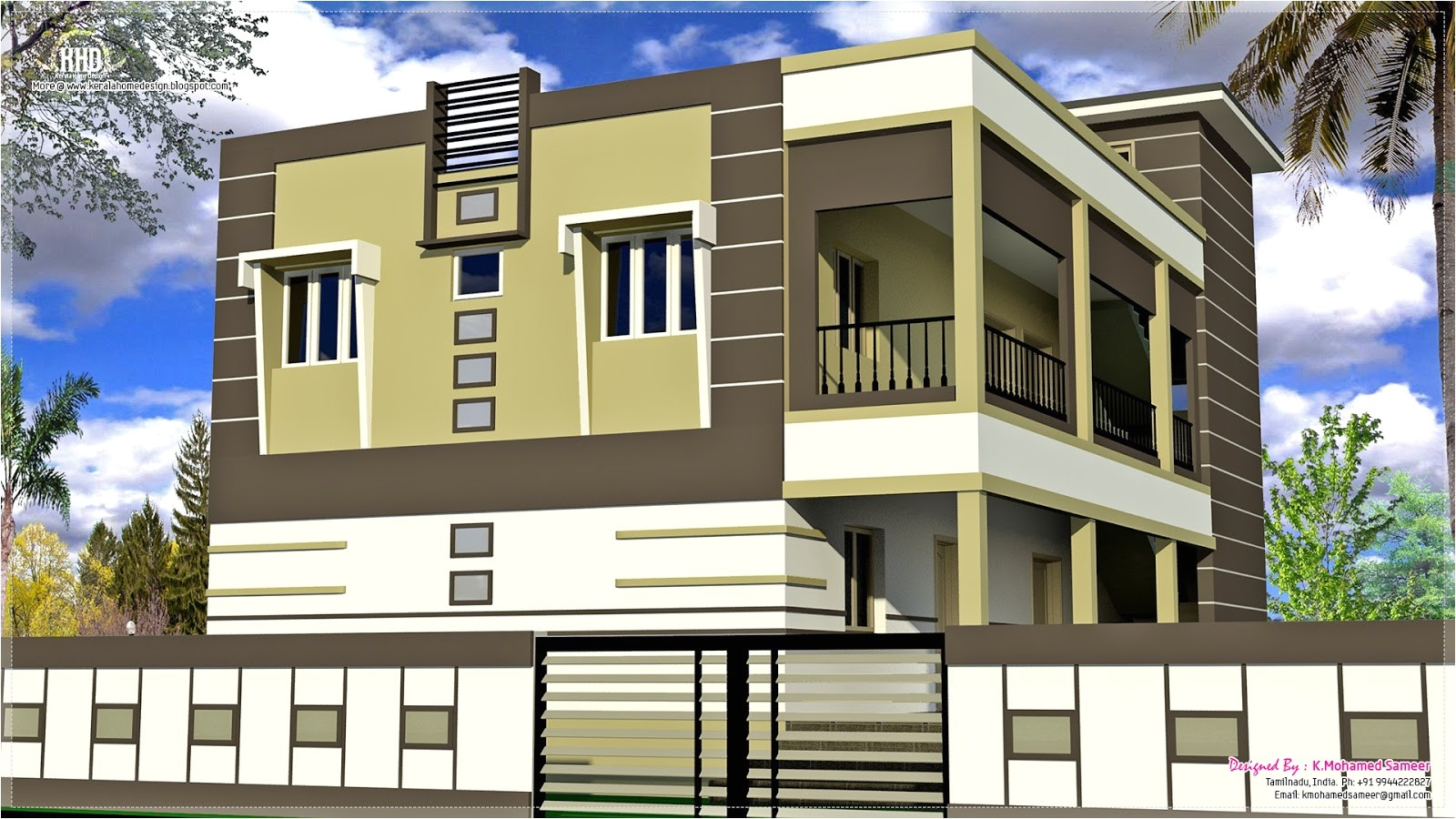 2 south indian homes