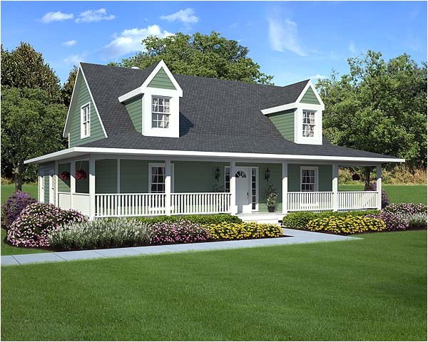 home plans with wrap around porches
