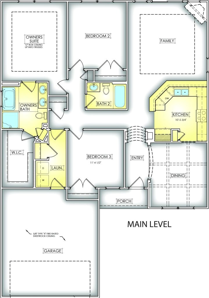 southern homes floor plans beautiful dahlia great southern homes