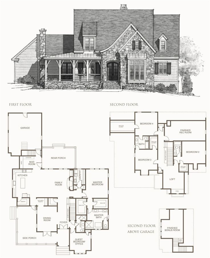 southern living floor plans