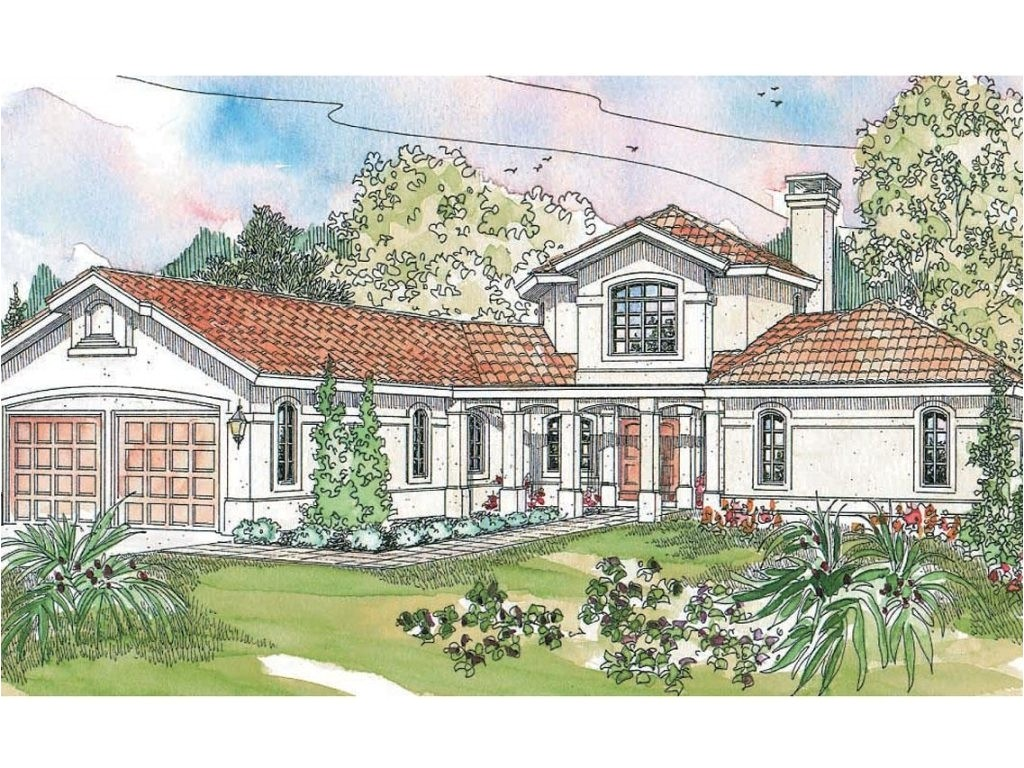 spanish house plans with inner courtyard