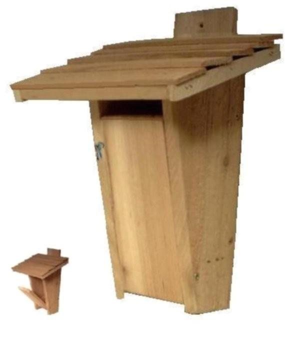 Sparrow Resistant Bluebird House Plans Ark Workshop Slot Bluebird House Birdhouse Box by Arkworkshop