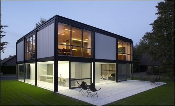 steel frame homes design modern home