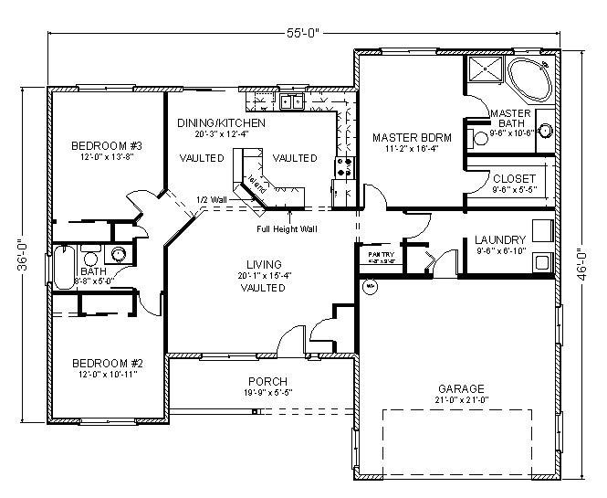 stick built homes floor plans