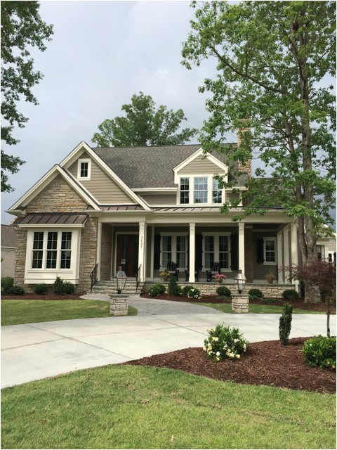 shook hill traditional exterior raleigh