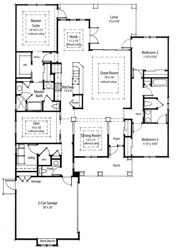 super energy efficient house plan 33019zr