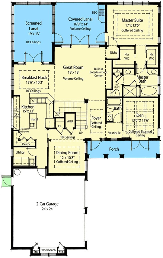 sustainable living house plan 33035zr