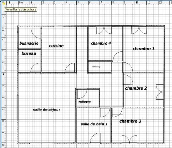 plan maison sweet home 3d