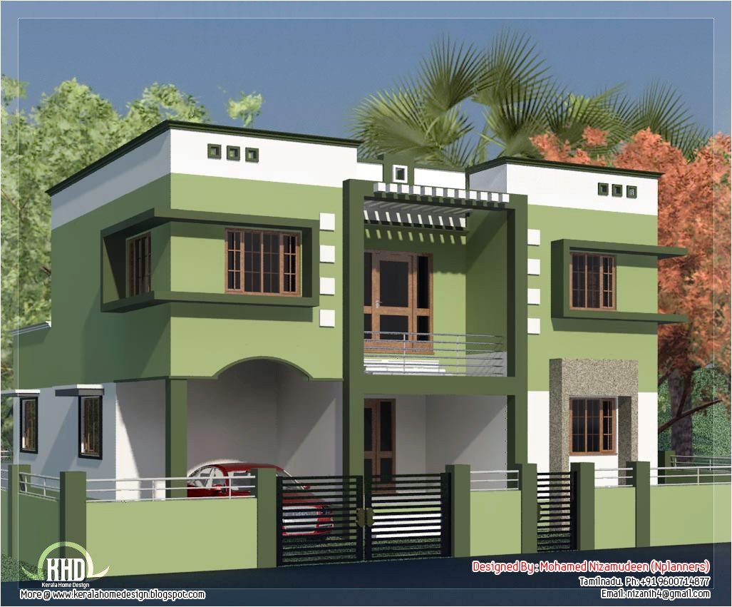 tamilnadu model house photos
