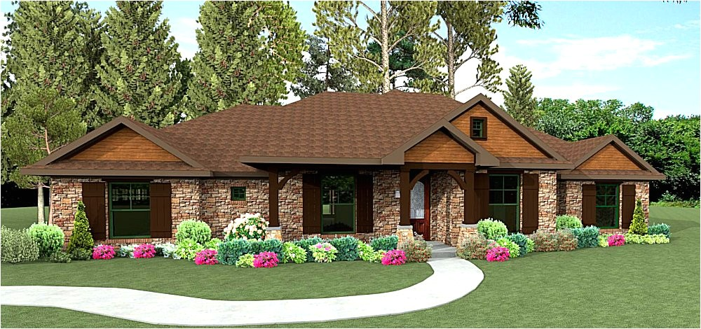 ranch style home plans texas
