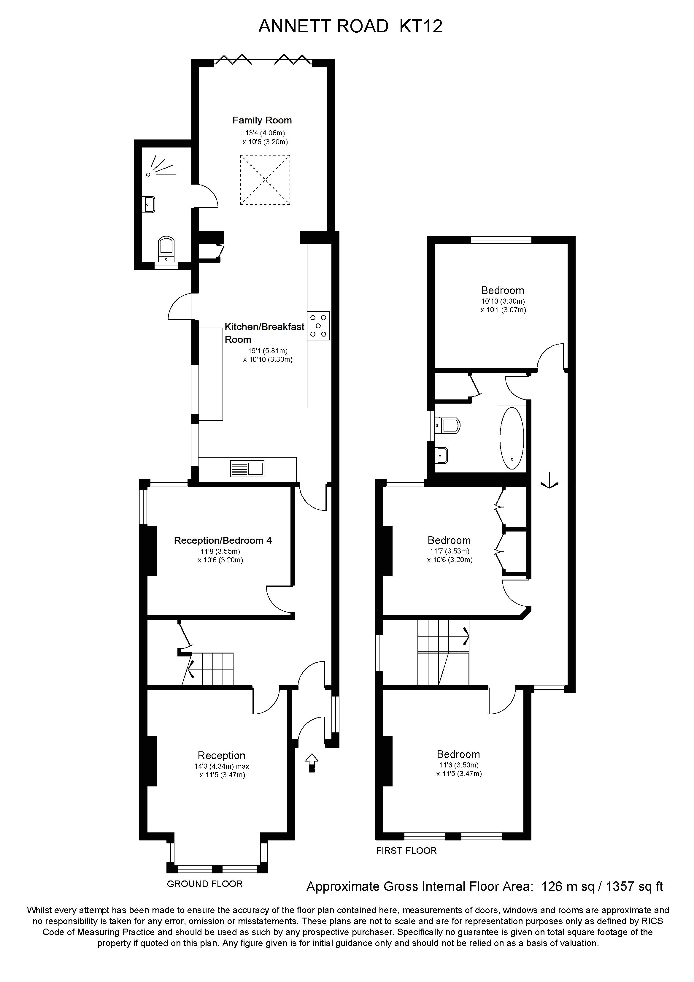 floor plan for the waltons house