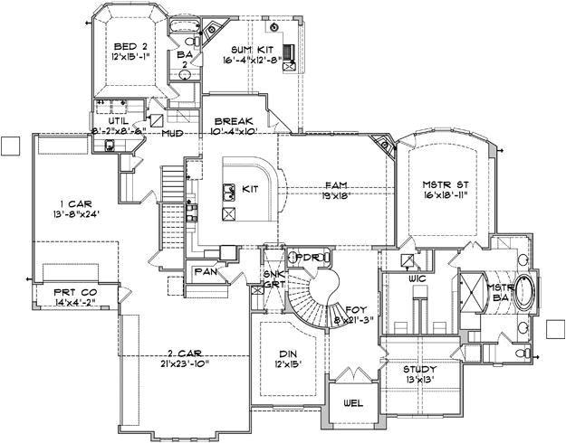 thehousedesigners com home plans unique 9 best house plans images on pinterest