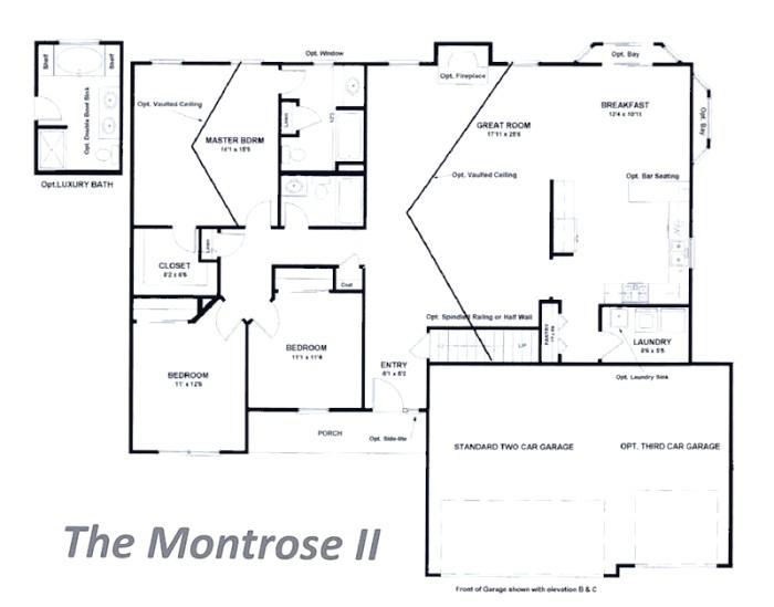 Tinnin Homes Floor Plans Tinnin Homes New Home Builder In Festus Pevely