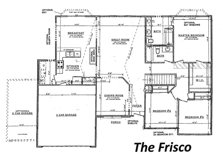 Tinnin Homes Floor Plans Tinnin Homes New Home Builder In Festus Pevely