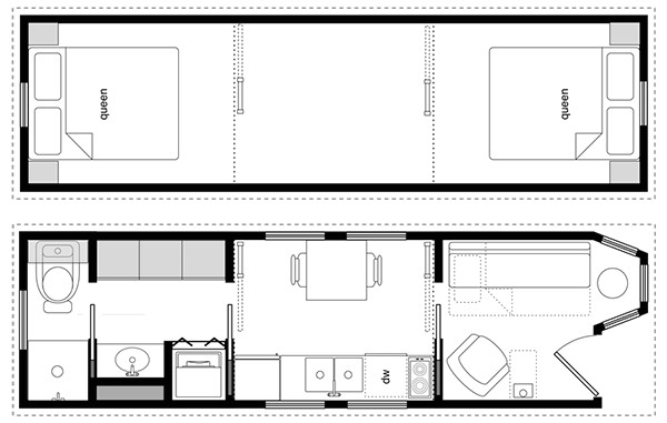 Tiny Home Design Plans Easy Tiny House Floor Plan software Cad Pro