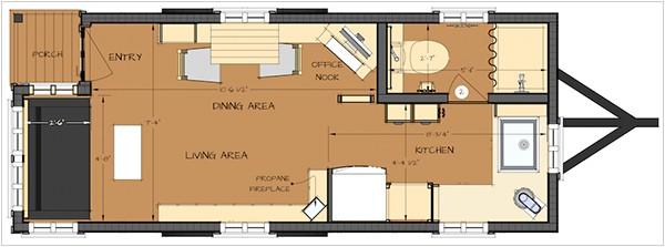 easy tiny house floor plans