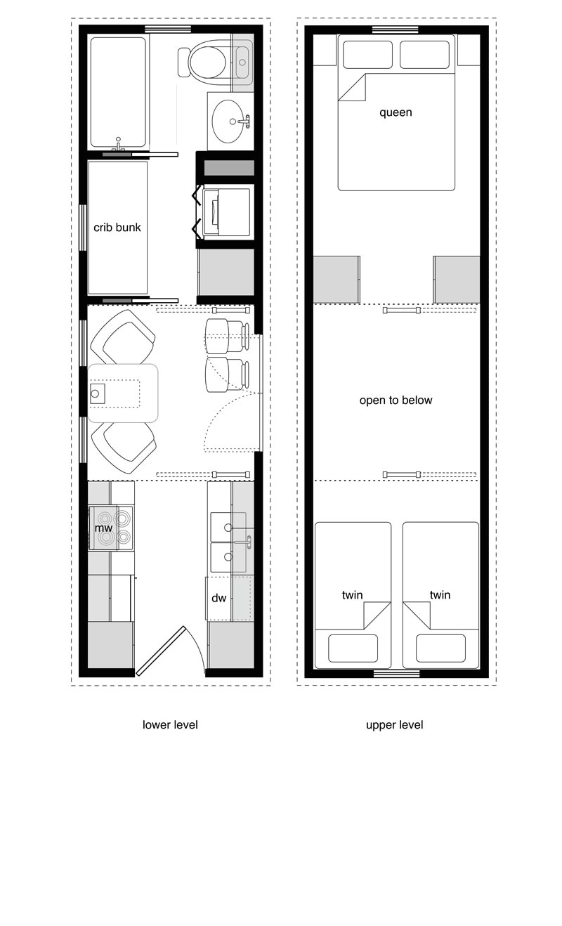 family tiny house design