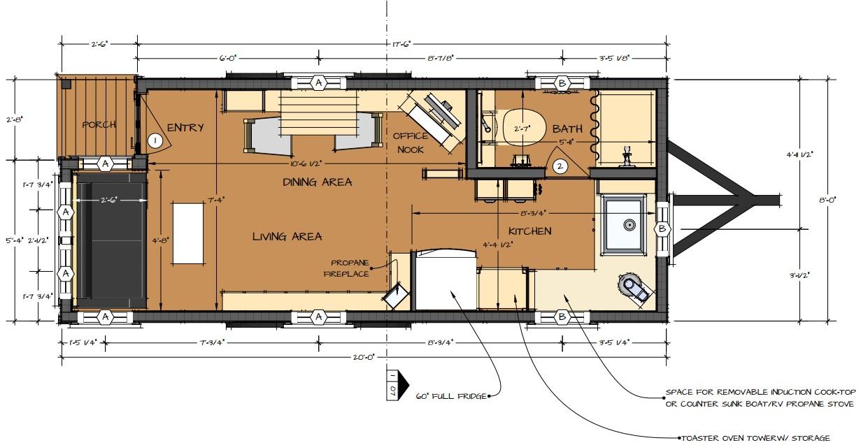 tiny home plans happy tiny living