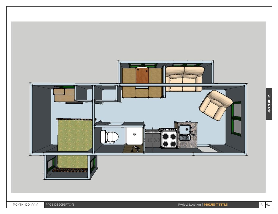 tiny house floor plans 2016