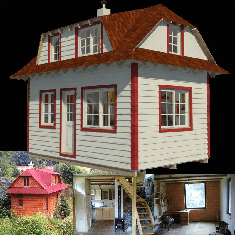 family tiny house plans barbara