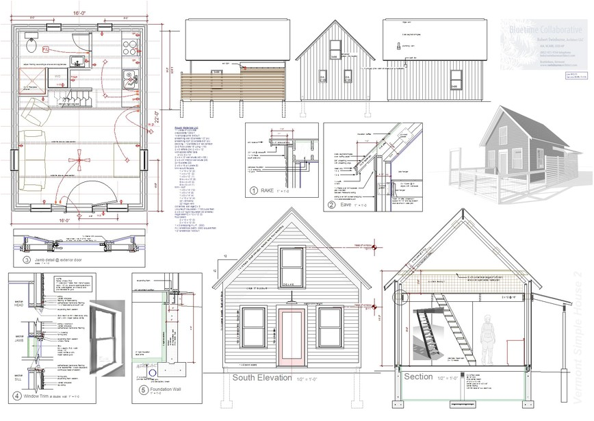 tiny house floor plans free picture