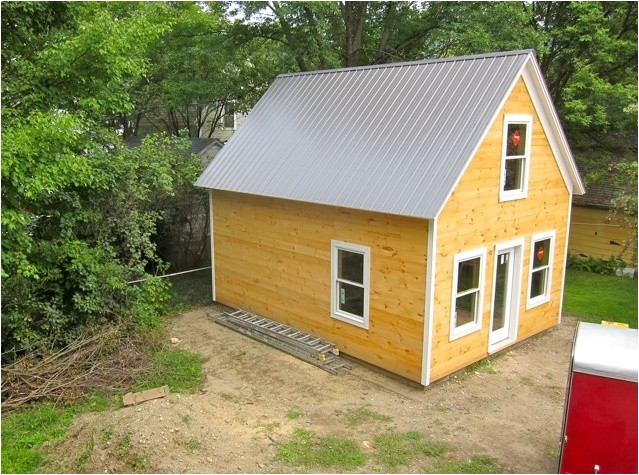 cost to build tiny house the design of wood material without terrace