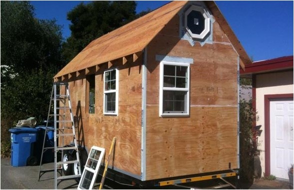 cost to build your own tiny house