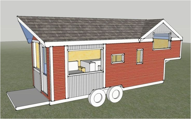 Tiny House Plans for 5th Wheel Trailer 5th Wheel Tiny Houses Plans Tiny House Mod Tiny Houses