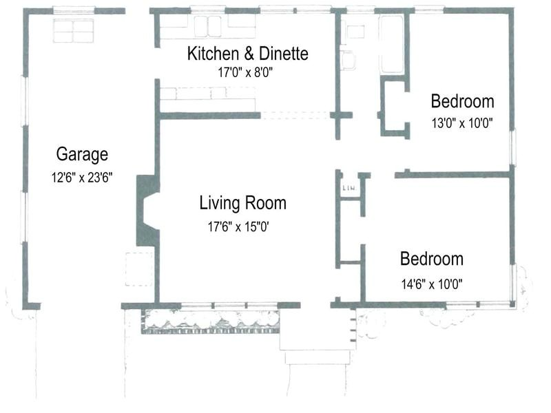 small house floor plans under 1000 square feet