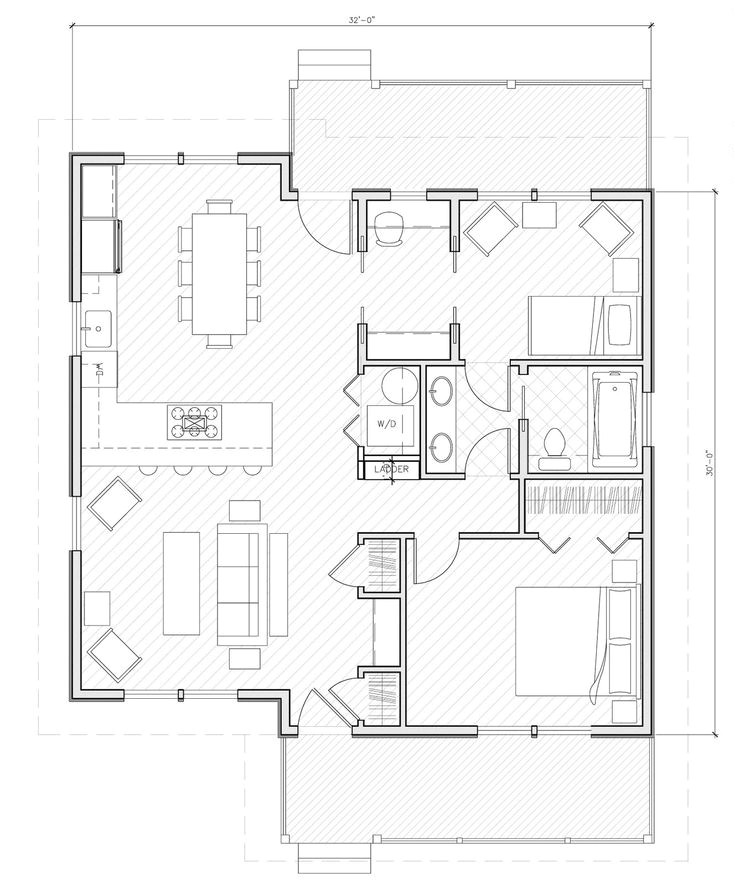 small house plans under 1000 sq ft with porch