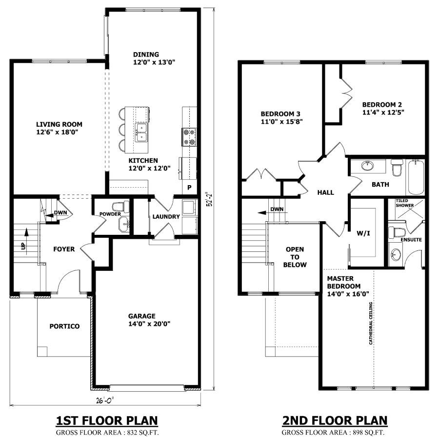 trademark homes floor plans