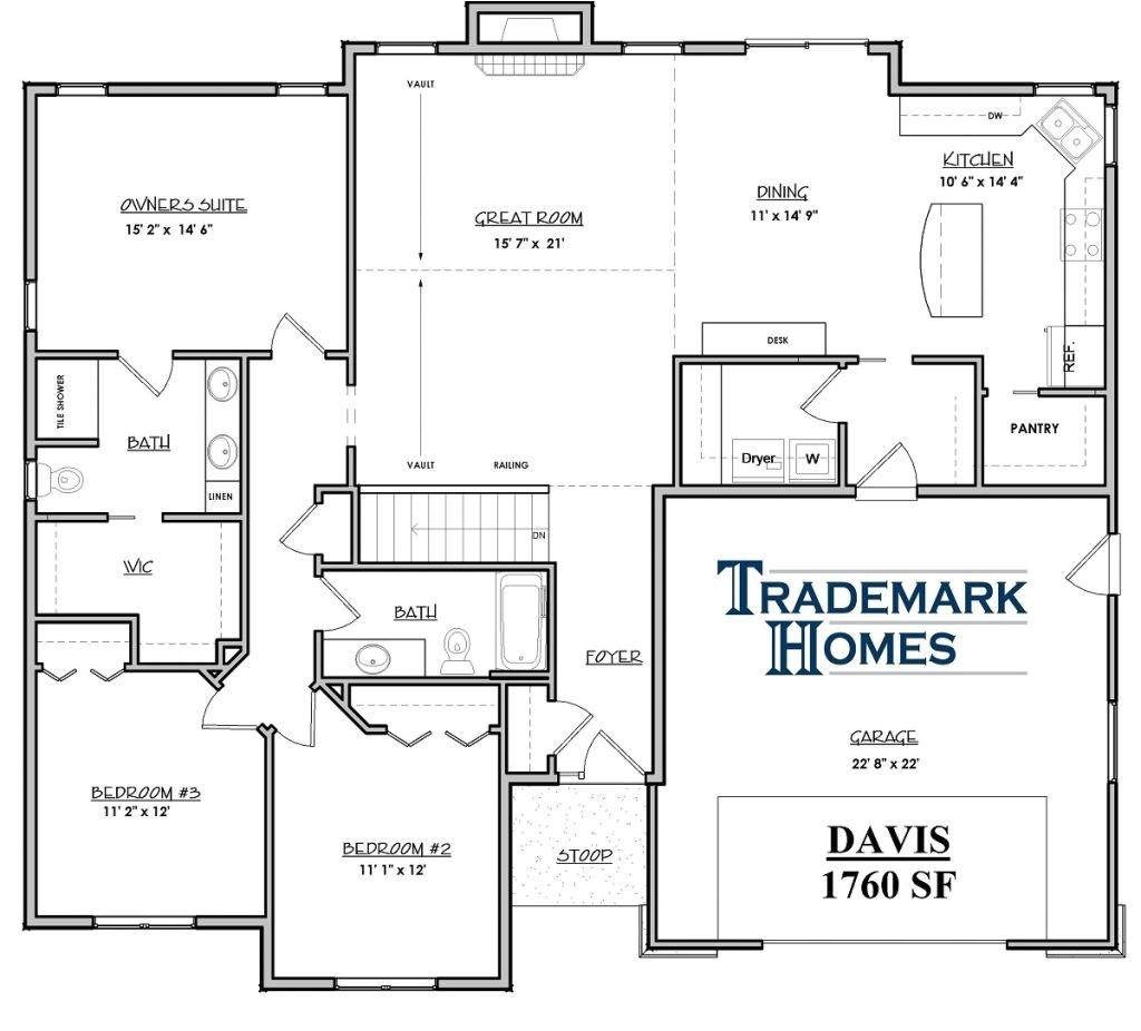 Trademark Homes Floor Plans Inspirational Trademark Homes Floor Plans New Home Plans